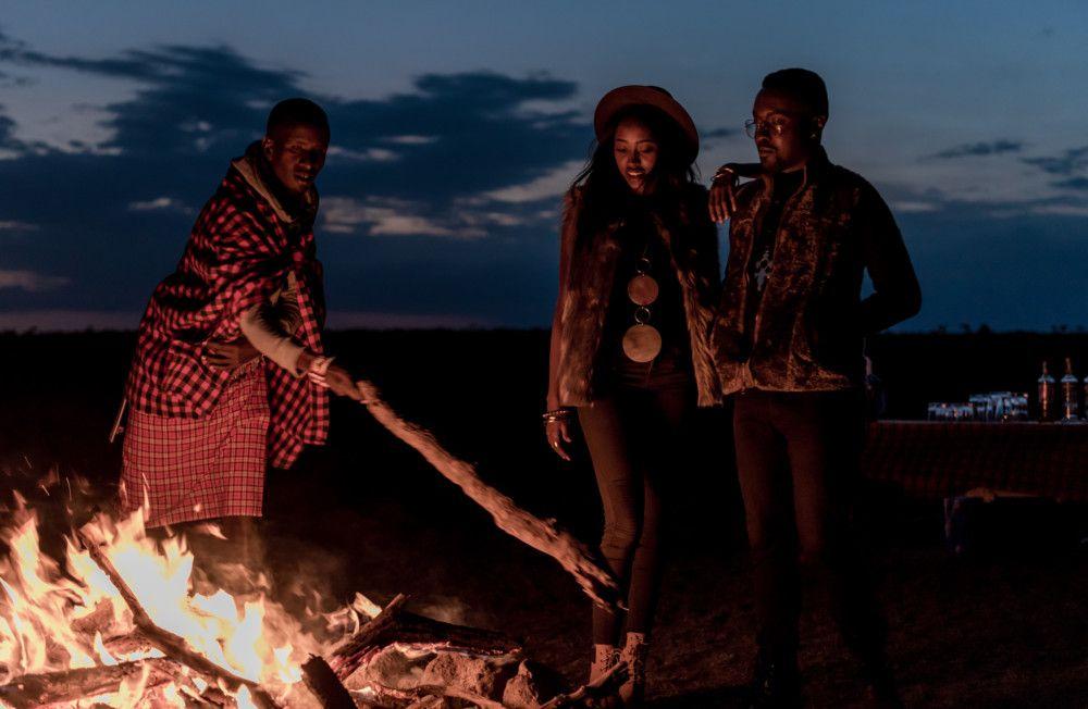 Safari honeymoon in Masai Mara National Reserve