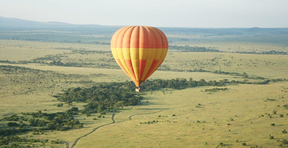 balloon safari in mara-Ol Seki Hemingways