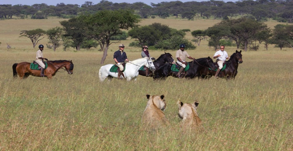 Horseback safari in mara-Hemingways Ol Seki
