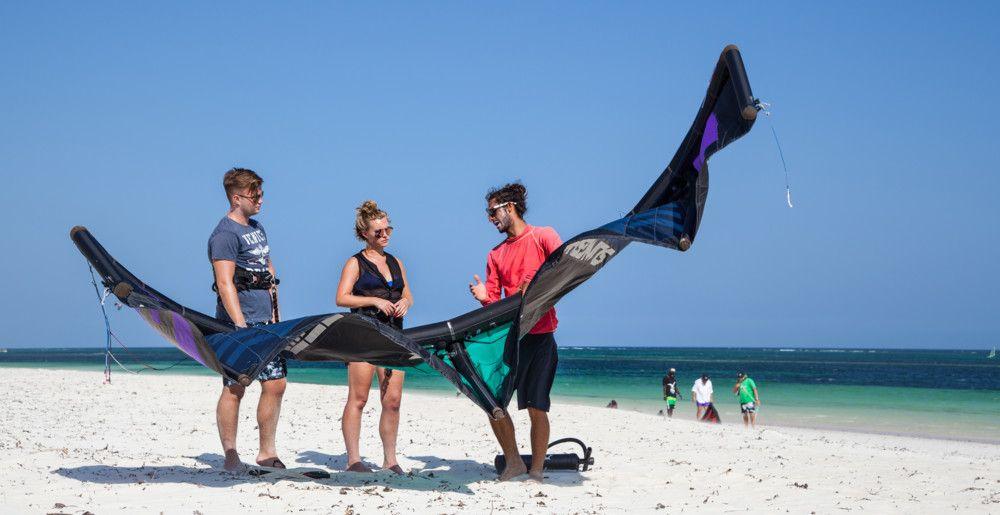Kitesurfing in Watamu Kenya