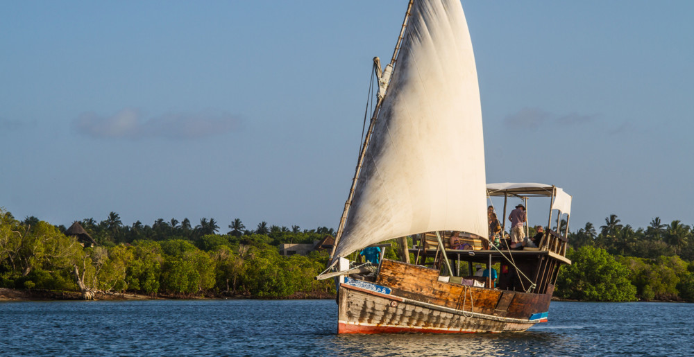 Enjoy a boat cruise in Mida Creek