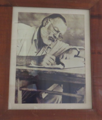 Ernest Hemingway, the famous Nobel prize winner – at Hemingway's Watamu. He camped near the site way back around 1950s