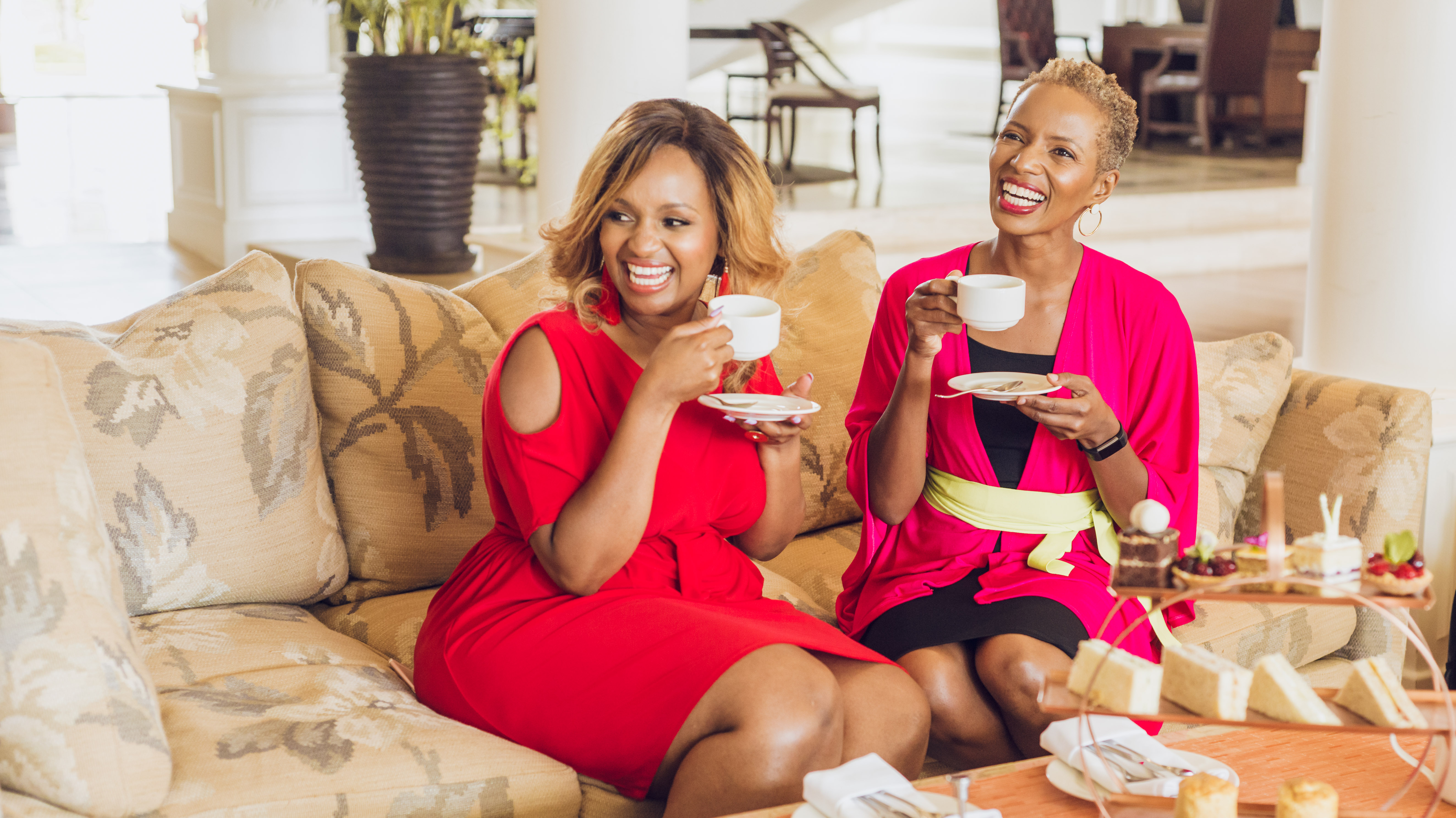Afternoon high tea at Hemingways Nairobi Hotel